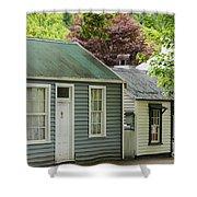 Buckingham Street Cottages Shower Curtain