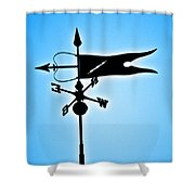 Bucksport Weathervane Shower Curtain
