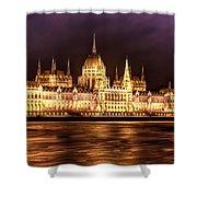 Buda Parliament  Shower Curtain