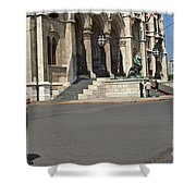 Parliament Budapest Shower Curtain