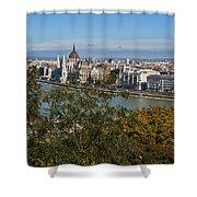 Budapest City Shower Curtain