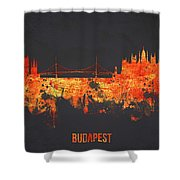 Budapest Hungary Shower Curtain