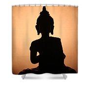 Buddah Shower Curtain
