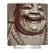 Buddha 15 Shower Curtain
