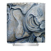 Buddha Bella Shower Curtain