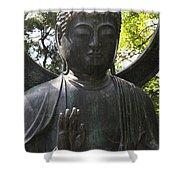 Buddha Detail Shower Curtain