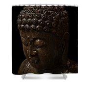 Buddha In The Dark Shower Curtain