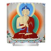 Buddha Maitreya Shower Curtain