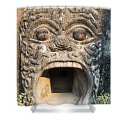 Buddha Park - Vientiane - Laos Shower Curtain