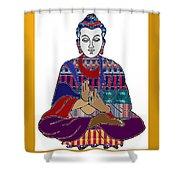 Buddha Spirit Humanity Buy Faa Print Products Or Down Load For Self Printing Navin Joshi Rights Mana Shower Curtain