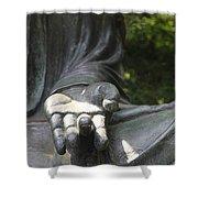 Buddha's Hand Shower Curtain