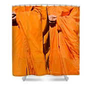 Buddhist Monks 02 Shower Curtain