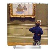 Budding Art Enthusiast Shower Curtain