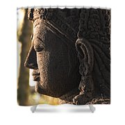 Budha Shower Curtain