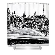 Buenos Aires Argentina  Shower Curtain