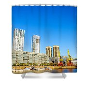 Buenos Aires Waterfront Shower Curtain
