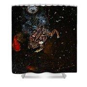 Bufa Toad Shower Curtain