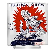 Buffalo Bills 1962 Program Shower Curtain