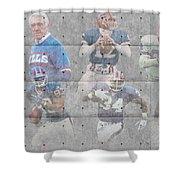 Buffalo Bills Legends Shower Curtain