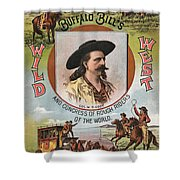 Buffalo Bills Wild West Shower Curtain by Unknown