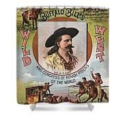 Buffalo Bills Wild West Shower Curtain