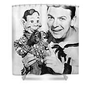 Buffalo Bob And Howdy Doody Shower Curtain