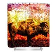 Buffalo Shower Curtain