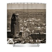Buffalo Central Terminal Winter 2013 Shower Curtain