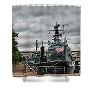Buffalo Naval And Military Park Shower Curtain