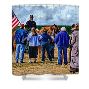 Buffalo Soldier Fort Verde Arizona Shower Curtain