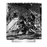Buffalo Soldiers Shower Curtain