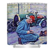Bugatti-angouleme France Shower Curtain by Derrick Higgins