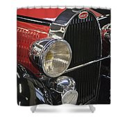 Bugatti Typ 57 Of 1935 Classic Car Shower Curtain