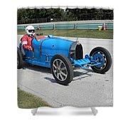 Bugatti Type 35 Racer Shower Curtain