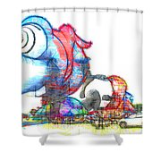 Buggy Shower Curtain