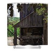 Buggy In The Barn Shower Curtain