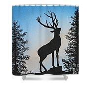 Bugle At Dawn Shower Curtain