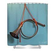 Bugle Boy Shower Curtain