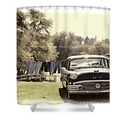 Buick For Sale Two Shower Curtain