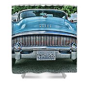 Buick Grills-hdr Shower Curtain