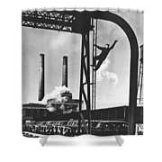 Buick Manufacturing Plant Shower Curtain