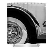 Buick Skylark Wheel Emblem Shower Curtain