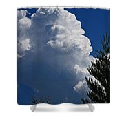 Building Cumulus Shower Curtain