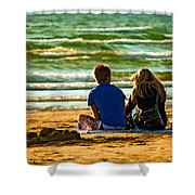 Building Dreams Shower Curtain