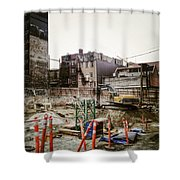 Building Hastings  Shower Curtain