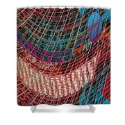 Building Lines Shower Curtain