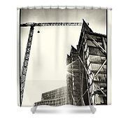 Building London 1 Shower Curtain