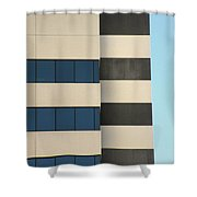 Building Walls Shower Curtain