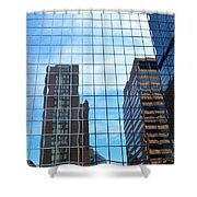 Building With In A Building Shower Curtain