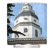 Built Without Nails Shower Curtain